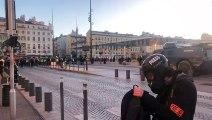 Gilets jaunes à Marseille : les affrontements reprennent sur la Canebière