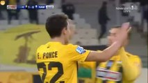 1-0  Ezequiel Ponce AMAZING Goal - AEK Athens FC 1 - 0 Lamia 08.12.2018