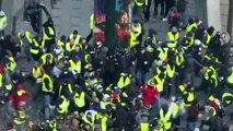 Conflitos durante protestos dos 'coletes amarelos'