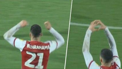 Le beau coup franc de Benrahma face à Swansea City