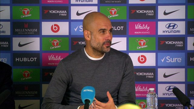 Reaction from Guardiola and Sarri after Chelsea 2-0 win over Manchester City