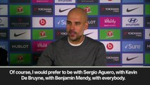 Eng Sub: Pep Guardiola says Aguero, De Bruyne and Mendi wouldn't have made a difference