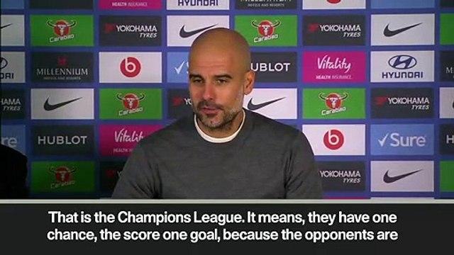 Eng Sub: Pep Guardiola hails Manchester City players despite 2:0 loss against Chelsea