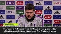 Eng Sub: Mauricio Pochettino on Tottenham Hotspur as title condenders