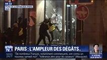 Quelle est l'ampleur des dégâts provoqués par les casseurs à Paris ?