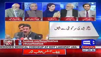 Ayaz Amir Criticizes Sheikh Rasheed On His Statement About Fawad Chaudhry