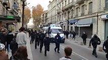 Manifestation des gilets jaunes à Avignon