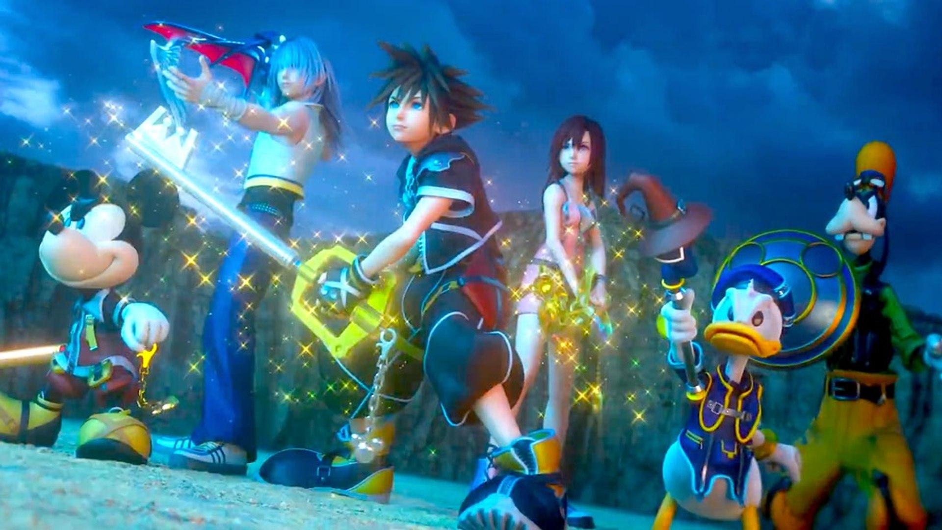 Kingdom Hearts Iii Opening Movie Trailer Video Dailymotion