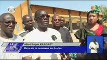 RTB/Inauguration d'infrastructures pour les chefs lieux de province àKaya