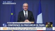 """Procureur de la République de Paris: """"plus de 120 personnes ont déjà été déférées aujourd'hui au tribunal de Paris"""""""