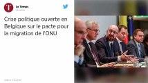 Le pacte migratoire de l'ONU plonge la Belgique dans une crise politique