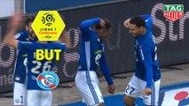 But Lebo MOTHIBA (23ème) / RC Strasbourg Alsace - SM Caen - (2-2) - (RCSA-SMC) / 2018-19