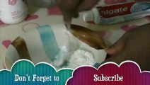 How to Make Slime Colgate Toothpaste and Flour, Without Borax, Without Starch and Without Detergent