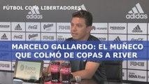 Marcelo Gallardo: el muñeco que colmó de copas a River Plate