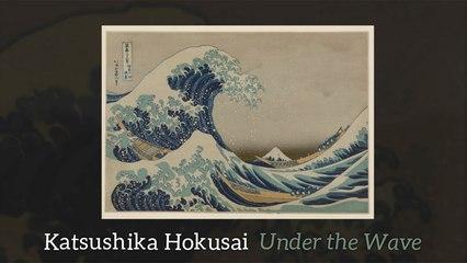 Katsushika Hokusai - Under the Wave