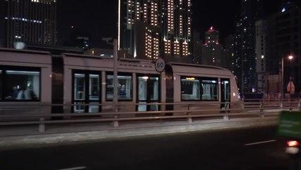Erste Tram in Dubai