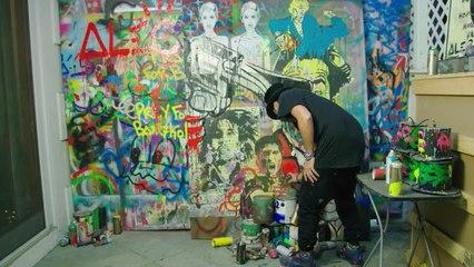 NYC Graffiti Artist to Global Artist