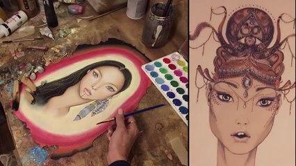 Miss World Sweeden is an amazing Artist
