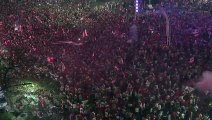 River Plate fans celebrate the Copa Libertadores title in Buenos Aires