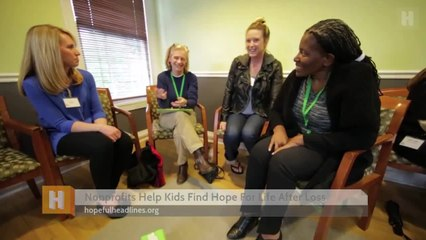 Nonprofits Help Kids Find Hope For Life After Loss