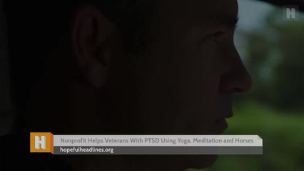 Nonprofit Helps Veterans With PTSD Using Yoga, Meditation and Horses
