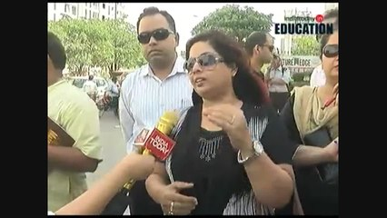 Parents protest against fee hike of some private schools in Delhi NCR