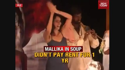 WATCH: Mallika Sherawat and boyfriend to be evicted from Paris apartment