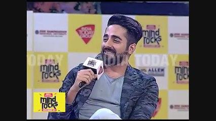 Mind Rocks 2017: Ayushmann Khurrana mimics Bollywood's biggest villains