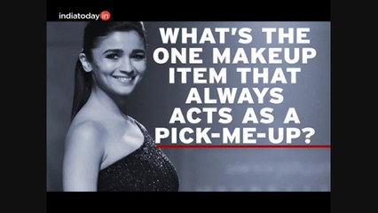Watch: Alia Bhatt gets candid about her makeup choices
