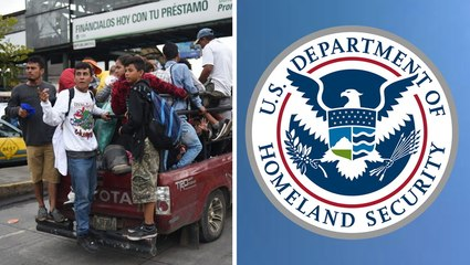 DHS Says Migrant Caravan Contains Criminals