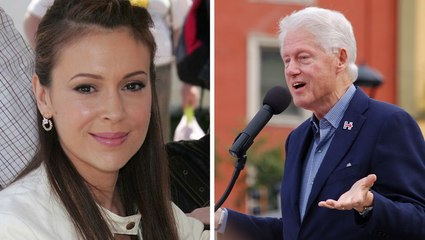 Alyssa Milano Says Bill Clinton Should Have Been Investigated