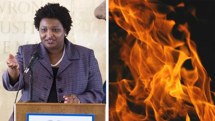 Democratic Candidate Helped Burn State Flag