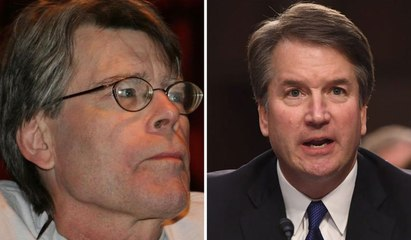 Stephen King Calls Brett Kavanaugh a 'Dry Drunk'
