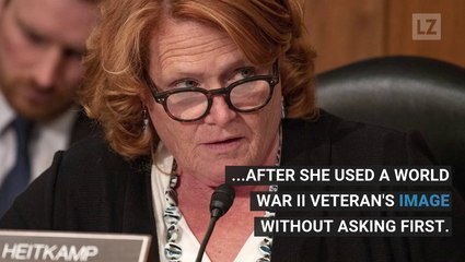 Dem. Senator Uses WWII Vet's Image Without Permission
