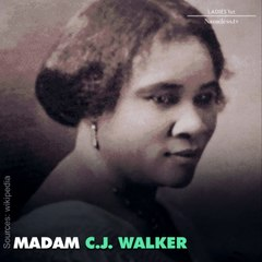 Did you know the first female self-made millionaire was African-American? #blackgirlmagic