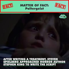 """3 actors from """"Poltergeist"""" died shortly after the films release leading many people to think the film was cursed."""