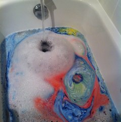 Bath bombs dissolving in water might just be the most satisfying thing in the world imho.