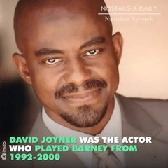 Did you ever wonder who was inside the Barney suit? The answer will definitely surprise you