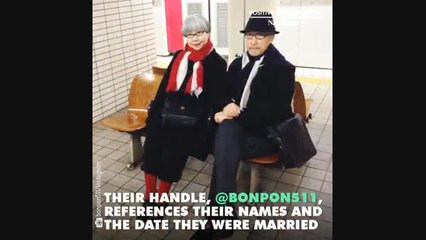 This couple has dressed in matching outfits for 37 years and it's adorable!