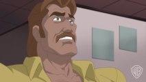 LOIS Takes Down BRAINIAC in SUPERMAN: UNBOUND Clip
