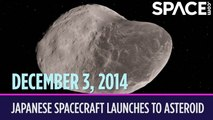 OTD in Space - Dec. 3: Japanese Spacecraft Launches to an Asteroid
