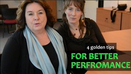 3 golden tips + bonus tip to for better performance - Word Up!