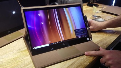 HP Spectre Folio Hands-on: Is the Leather Worth It?