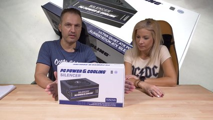 PC Power & Cooling Silencer 1050 Unboxing