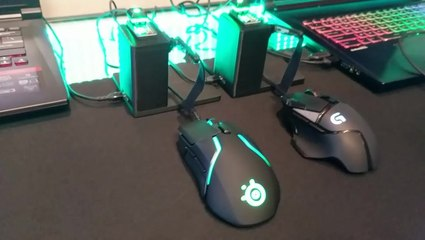 SteelSeries' Rival 600 Mouse Liftoff Demo