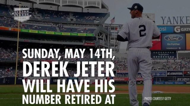 Derek Jeter #2 Retirement Tribute