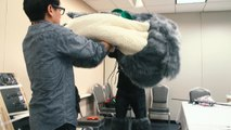 Adam Savage Incognito as Totoro at New York Comic Con!