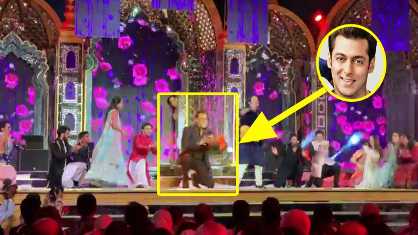 Isha Ambani Wedding: Salman Khan turns background dancer for Anant Ambani | Boldsky