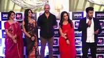 Naagin 3 Stars Pearl V Puri & Surbhi Jyoti At Ekta Kapoor's ALTBalaji APHARAN Web Series Launch
