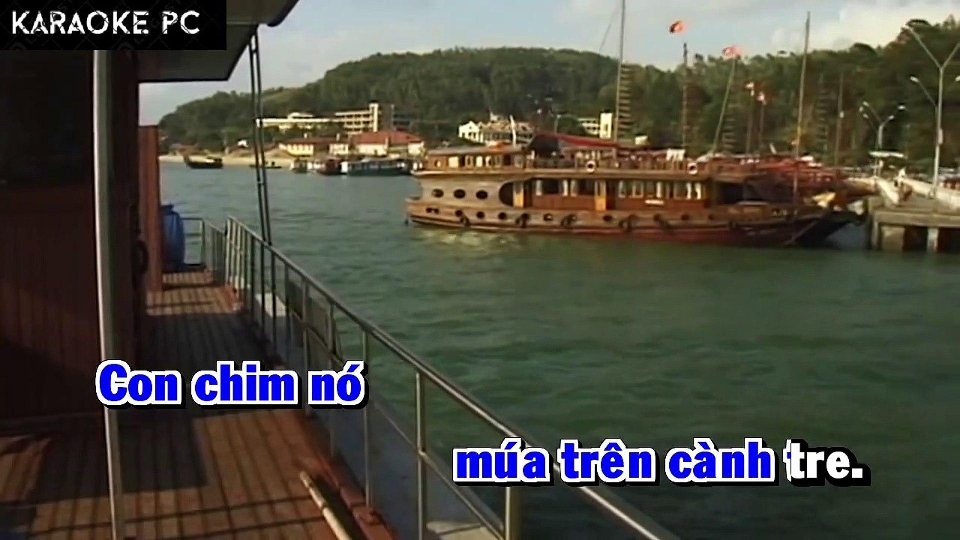 Karaoke Thương Quá Việt Nam - Quang Linh